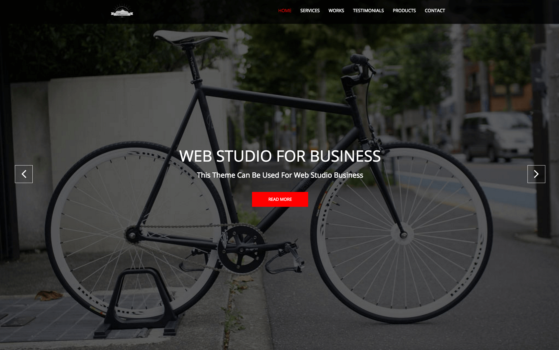 web studio free theme