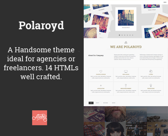 Polaroyd - Agency & Freelance Theme