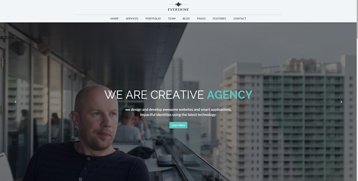 Evershine -Multipurpose Bootstrap HTML5 template
