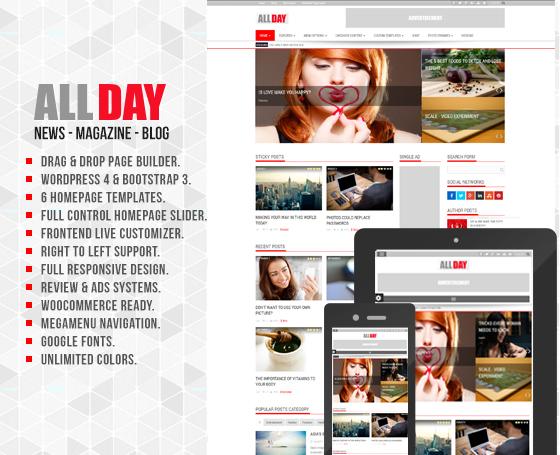 3 Newspaper Template Wordpress Gridgum