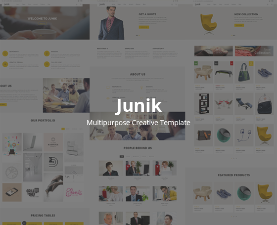Junik-Multipurpose Creative Template