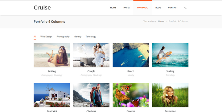 Cruise - Responsive Travel Template