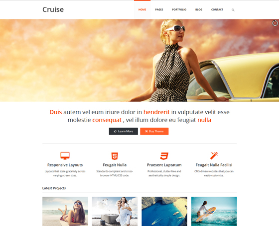 Cruise - Responsive Html5 Template