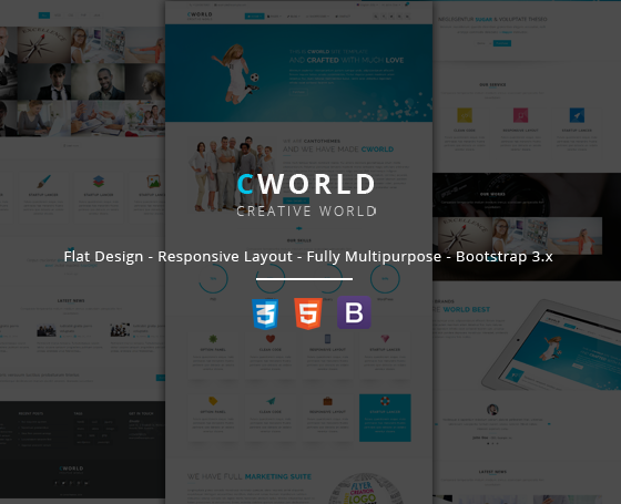 CWorld - Multi Purpose Site Template