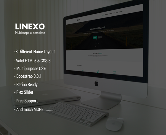 Linexo u2013 Multipurpose Template