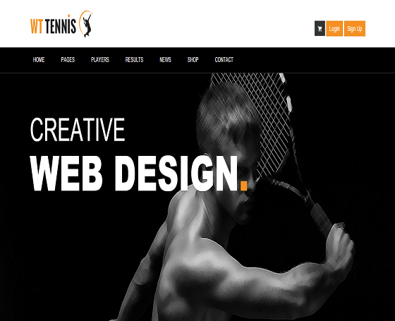 Responsive Sports Multipurpose Template