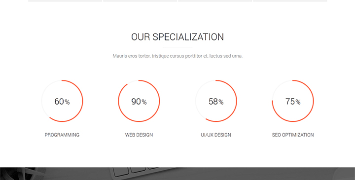 Clarix u2013 Creative Agency One Page HTML5 Theme