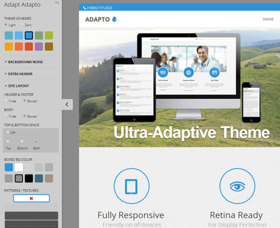 Adapto Multipurpose HTML Template