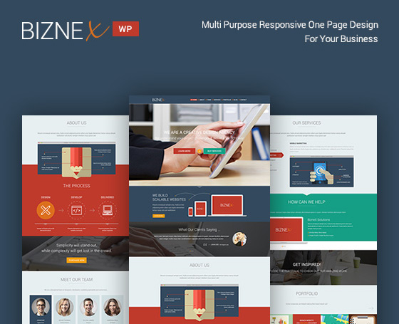 BizNex | Multi-Purpose Parallax WP