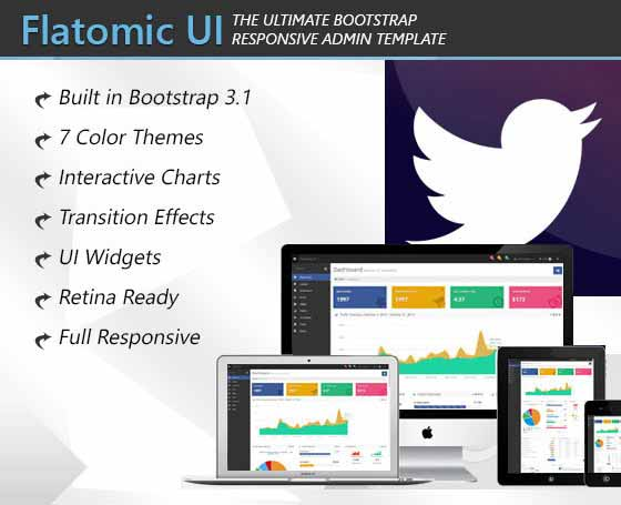 Flatomic - Admin & Frontend Template