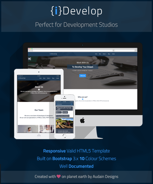iDevelop Advertisment Author Dashboard