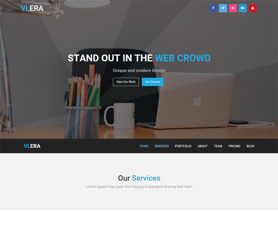 Vlera - Multi-Purpose HTML5 Template
