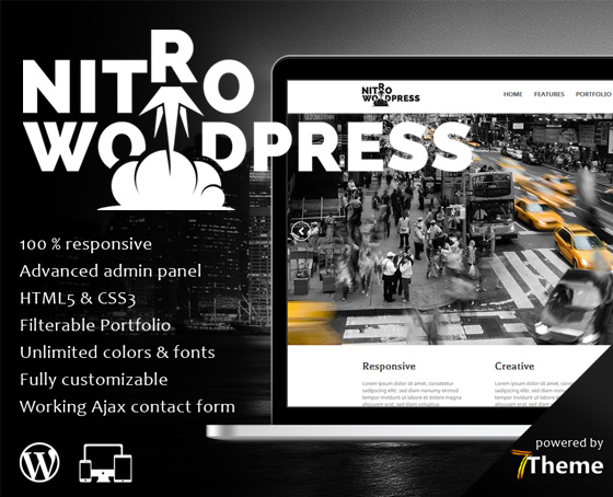 Nitro - Powerfull multipurpose WP Theme