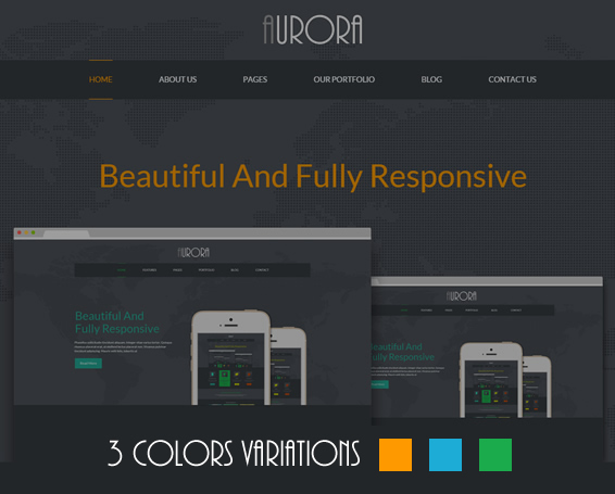 Aurora - Multi Purpose Responsive Site