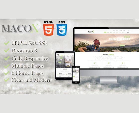 MacoX - Multipurpose Template