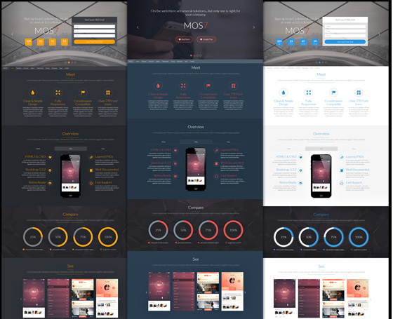 Aurora - Multipurpose template