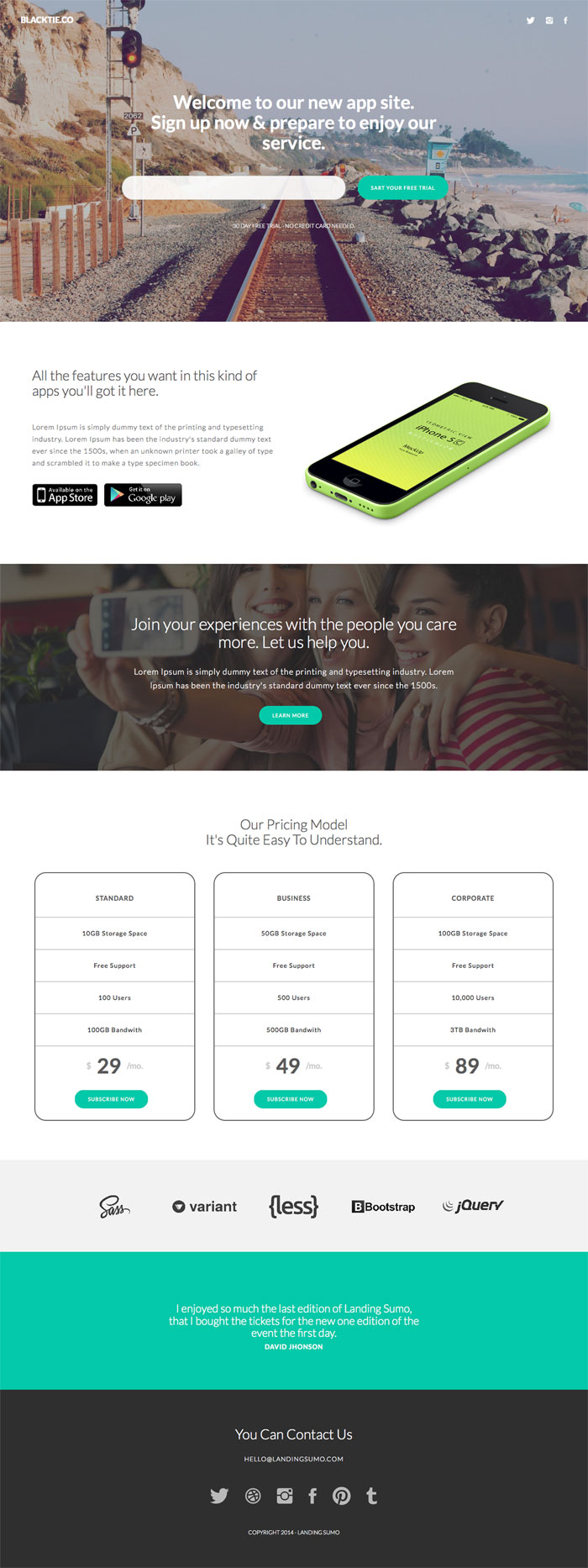 sumo-wordpress-landing-theme