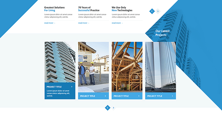 website templates for architects