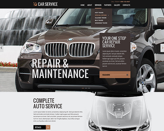 Car Service - Bootstrap Responsive Theme