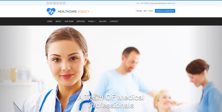 Medical - free bootstrap theme