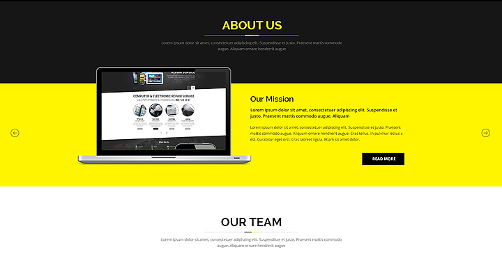 Color - Multipurpose Bootstrap Website Template