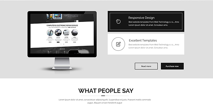 Color - Multipurpose HTML Bootstrap Template