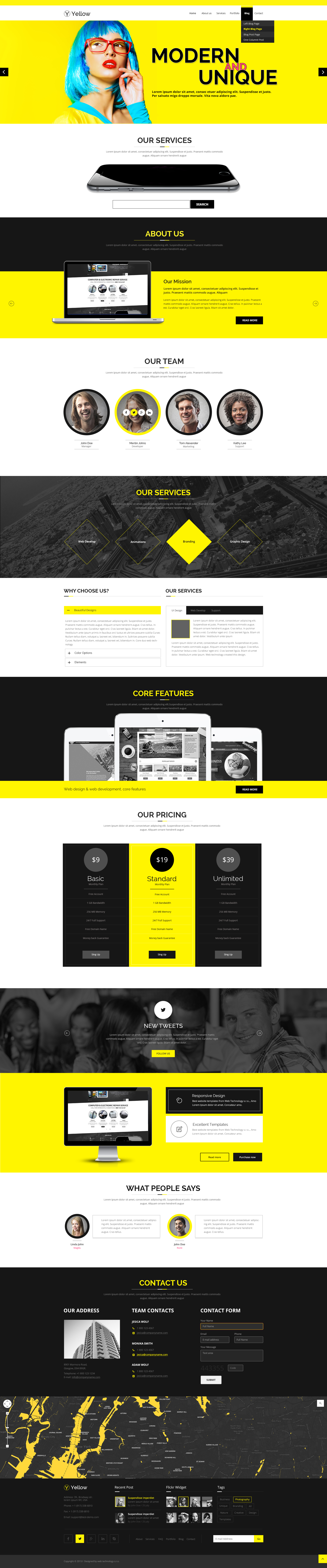color bootstrap theme