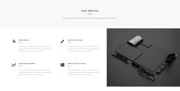 Black label Multipurpose bootstrap theme