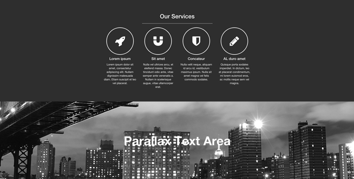 Personal - Free bootstrap theme