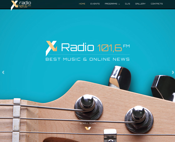 X Radio & Sound Studio Themes