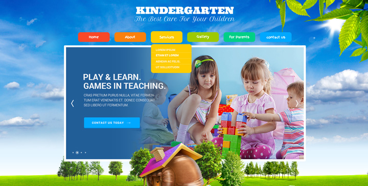 Sj uking v3. 9. 0 beautiful kids joomla template.