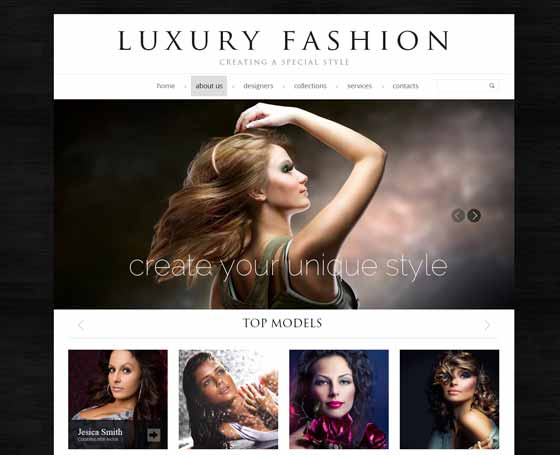 Fashion - bootstrap template