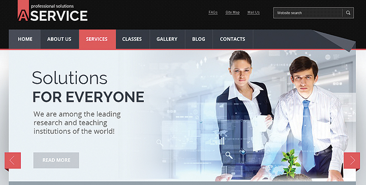 Professional Solution Joomla Website Theme