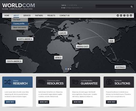 13 free HTML5 website templates, free html5 themes | Gridgum